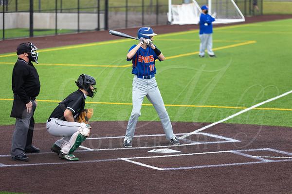 Ridgefield HS JV Baseball vs Woodland Beavers. RHS wins 21-1. April 9, 2021