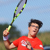 9-1-21<br /> Western vs Cass boys tennis<br /> Cass 1 doubles Bryon Hurst<br /> Kelly Lafferty Gerber | Kokomo Tribune