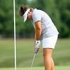 9-2-21<br /> Northwestern vs Eastern girls golf<br /> Eastern 1 Cora Bartrum<br /> Kelly Lafferty Gerber | Kokomo Tribune