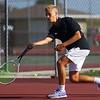 9-1-21<br /> Western vs Cass boys tennis<br /> Western 3 singles Evan Butcher<br /> Kelly Lafferty Gerber | Kokomo Tribune