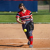 Logansport Berries pitcher Kinzie Byrd (11) throws the ball during the first inning of a game between the Logansport Berries and Lewis Cass Kings on Wednesday, May 12, 2021 in Walton.