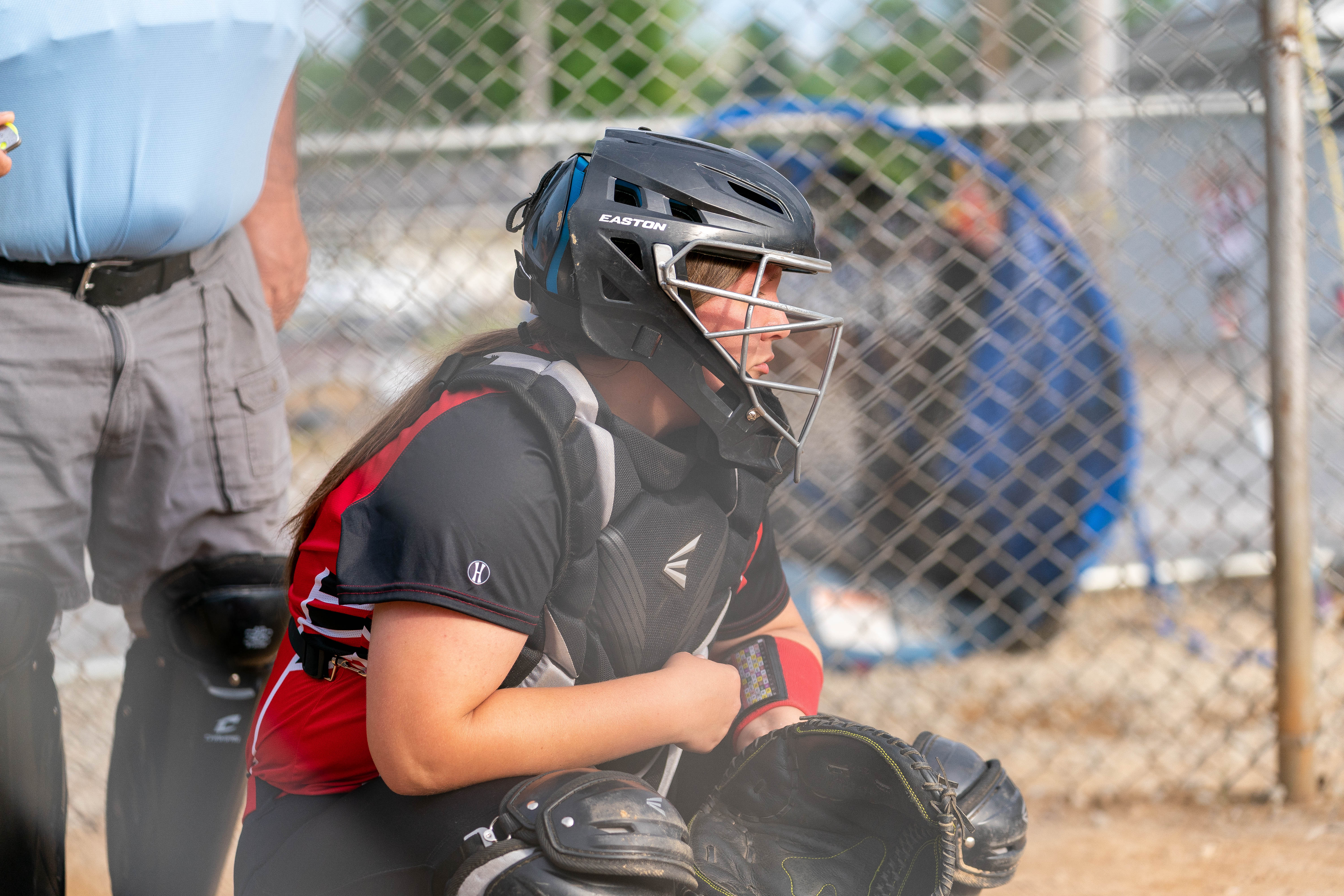 This is the catcher for Charleroi