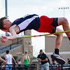 Lewis Cass' Luke Chambers competes in the high jump during the boys track and field sectional at Kokomo High School on Thursday, May 20, 2021 in Kokomo.