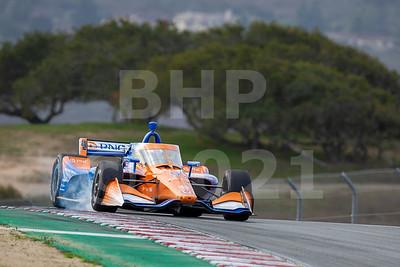 IndyCar test February 2021 WeatherTech Raceway Laguna Seca