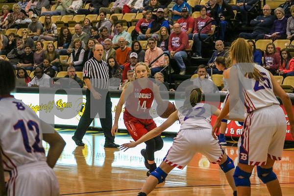 Bullard vs Van Basketball playoffs