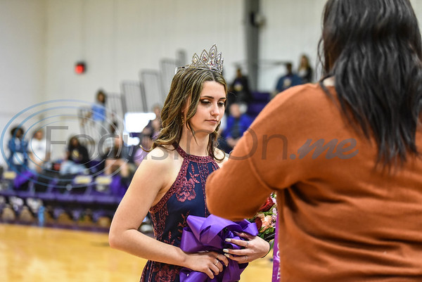 Makayla Wiggins was crowned Homecoming Queen during halftime of the Women's Jacksonville College Basketball game against Trinity Valley on Saturday, February 2. (Jessica T. Payne/Tyler Morning Telegraph)