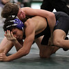 Midview's James Hutchinson is defeated by Bryce Andonian of St. Edward during the 120-pound sectional championship. Randy Meyers -- The Morning Journal