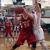 Firelands Richard Maggard looks to shoot over Fairview's Grant Howes during the third quarter. Randy Meyers -- The Morning Journal