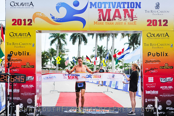 2nd Annual Motivation Man 1/2 Iron/Olympic Triathalon in WPB, June 1st