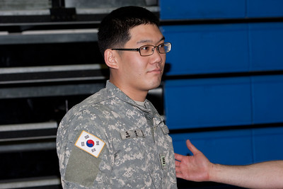 KATUSA Athlete of the 2nd Quarter  SGT Yoo, Sun Jun Hometown: Seoul, Korea  UNIT: C 1-72nd AR   Accomplishments: Casey and Area I Unit Level Basketball Champion 3rd place 8th Army Post Level 3rd Place Unit Level Volleyball