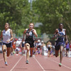 The Class AAA/AAAA State Track and Field Championships at the UNM track complex on May 17, 2014.  Luis Sanchez Saturno/The New Mexican