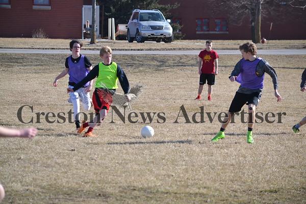 3-14 Creston soccer practice