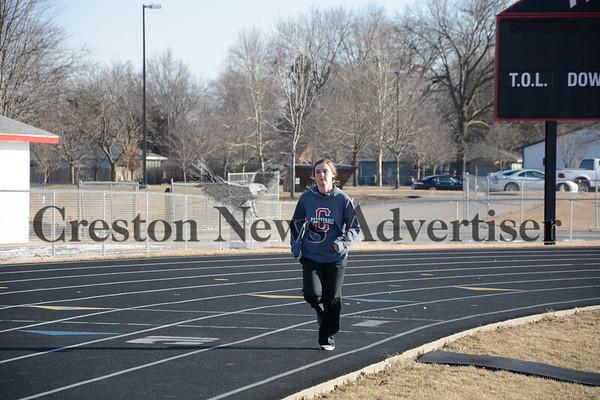 3-9 Creston track practice