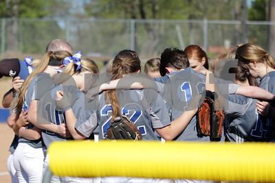 3/21/17 Grace Community School Varsity Softball vs Brook Hill School by Lisa Pierce
