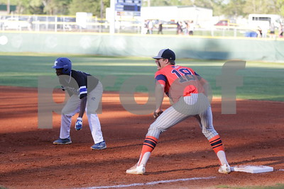 3/21/17 Grace Community School Varsity Baseball vs Brook Hill School by Lisa Pierce