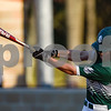 Bishop T.K. Gorman's Nick Reuter (4) swings during a high school baseball game at All Saints Episcopal School in Tyler, Texas, on Thursday, March 22, 2018. All Saints beat Bishop T.K. Gorman 4-3. (Chelsea Purgahn/Tyler Morning Telegraph)
