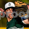 Bishop T.K. Gorman's Nick Reuter (4) pitches during a high school baseball game at All Saints Episcopal School in Tyler, Texas, on Thursday, March 22, 2018. All Saints beat Bishop T.K. Gorman 4-3. (Chelsea Purgahn/Tyler Morning Telegraph)