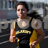 A Malakoff track athlete competes during a track and field meet at Van High School in Van, Texas, on Thursday, March 22, 2018. (Chelsea Purgahn/Tyler Morning Telegraph)