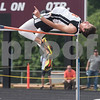 Trent Easley of Grand Saline High School competes in the high jump during the Class 3A Region II meet at Wildcat Stadium in Whitehouse Friday April 28, 2017.<br /> <br /> (Sarah A. Miller/Tyler Morning Telegraph)