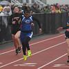 Clearview's Alyzabeth Lighty edges out Brookside's Madissyn Valdez and North Ridgeville's Rachel Blumfeldt in the girls 100-meter dash,. Eric Bonzar — The Morning Journal