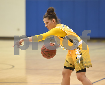 Tyler Junior College's Jordan Towery sets up a play during their game against Blinn College in the Region XIV Basketball Tournament held Wednesday March 8, 2017 at John Alexander Gym in Jacksonville.  (Sarah A. Miller/Tyler Morning Telegraph)