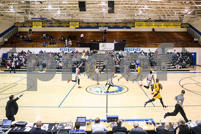 A NJCAA Region XIV tournament game between Tyler Junior College and Lee College at John Alexander Gym in Jacksonville, Texas, on Thursday, March 9, 2017. Lee College won 70-69. (Chelsea Purgahn/Tyler Morning Telegraph)