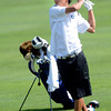 Christian Wagner of Alexander Dawson hits off the fairway at the Class 3A Northern Regional Golf Tournament at the Boulder Country Cluf on Thursday September 20, 2012. <br /> Photo by Paul Aiken