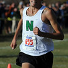 David Perry of Niwot wins the 4A regional on Thursday.<br /> The regional 3A/4A cross country races were held at Lyons High School.<br /> Cliff Grassmick / October 22, 2009