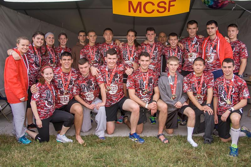 RPI Naval ROTC Team