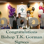 4/17/13 Bishop Thomas K. Gorman Regional Catholic School Athlete Signings by Sarah Miller