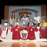 4/17/13 Whitehouse High School Athletic Signings by Sarah Miller