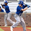North Mesquite's Waid Robison (3) prepares to swing during a high school baseball game at Mike Carter Field in Tyler, Texas on Tuesday, April 17, 2018.  (Chelsea Purgahn/Tyler Morning Telegraph)