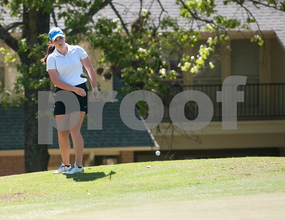 Annaka Watts of Tyler is pictured during the Azalea Trail Junior Golf Classic held at Hollytree Country Club in Tyler Saturday April 2, 2016. The classic had 141 golfers.  (Sarah A. Miller/Tyler Morning Telegraph)