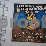 4/22/13 Fellowship Of Christian Athletes Heart Of A Champion Bowl Banquet by Jan Barton