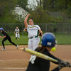 Amherst's Madison O'Berg pitches against Anthony Wayne. Eric Bonzar — The Morning Journal