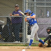 Midview freshman Marcella McMahon connects with a pitch. Eric Bonzar — The Morning Journal