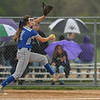 Midview freshman Marcella McMahon pitches against Perrysburg. Eric Bonzar — The Morning Journal