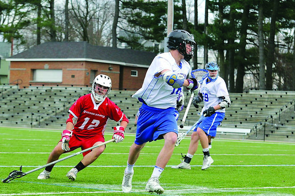 4/8/14 Lacrosse: Leominster vs. Hudson