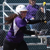 Randy Meyers -- The Morning Journal Vermilion's Rebecca Oates delivers a base hit against Lorain during the first game of a doubleheader.