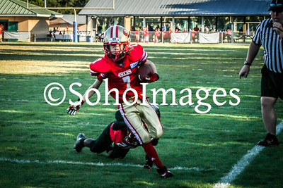 49er's Peewee Football Action 2015