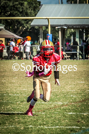 49er's Super Midget Football Action 2015
