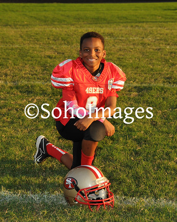 49er's Super Midget Football Portraits 2015