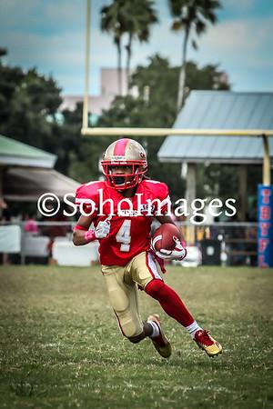 49er's Varsity Football Action 2015