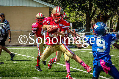 49er's vs Giants Midget Action Football 2015