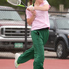 Niwot 4 Doubles:<br /> Maura Derr during the 4A State Tennis Girls Championships at Pueblo City Park on Friday May 11, 2012<br /> All photos by Steve Bigley / For the Camera