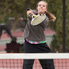 Niwot 2 Doubles:<br /> <br /> Kaitlyn Skinner  during the 4A State Tennis Girls Championships at Pueblo City Park on Friday May 11, 2012<br /> All photos by Steve Bigley / For the Camera