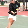 Niwot 1 Singles:<br /> Erin Mulshine during the 4A State Tennis Girls Championships at Pueblo City Park on Friday May 11, 2012<br /> All photos by Steve Bigley / For the Camera