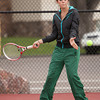 Niwot 4 Doubles:<br /> <br /> Isabelle Stafford during the 4A State Tennis Girls Championships at Pueblo City Park on Friday May 11, 2012<br /> All photos by Steve Bigley / For the Camera