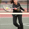 Holy Family 3 Doubles:<br /> Julianne Greco during the 4A State Tennis Girls Championships at Pueblo City Park on Friday May 11, 2012<br /> All photos by Steve Bigley / For the Camera