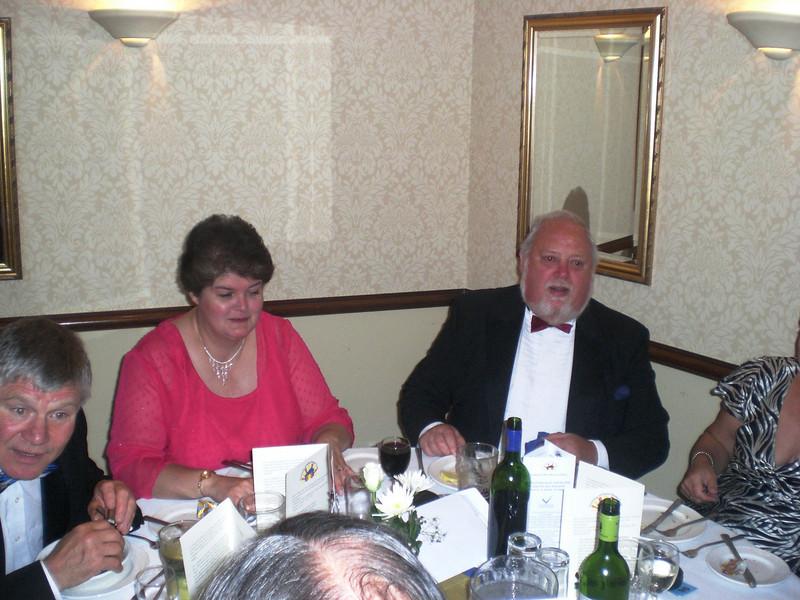 John Eccleston, Marilyn and Peter Ringrow
